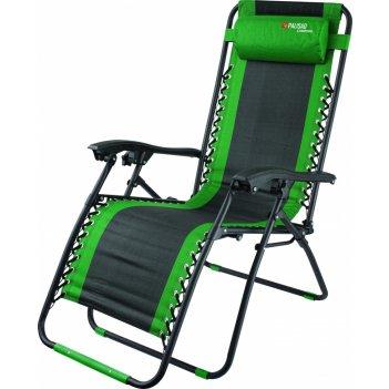 Кресло-шезлонг складное, многопозиционное 160 х 63,5 х 109 cм camping pali