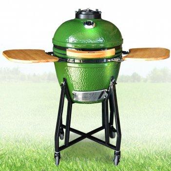 Керамический гриль st grill 18 green для дачи