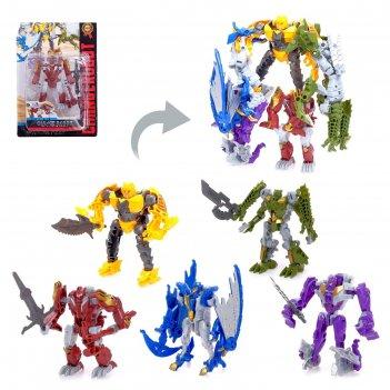 Робот-трансформер диноформер, микс