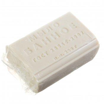 Мыло туалетное «банное» резаное, 200 гр