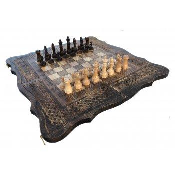Шахматы + нарды резные 3 60, mkhitaryan