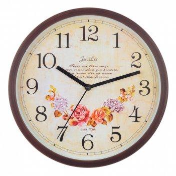Часы настенные декоративные, l30 w4 h30 см, (1хаа не прилаг.)