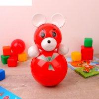 Игрушка-неваляшка медведица