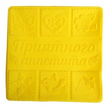 Форма для выпечки приятного аппетита, желтый