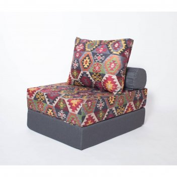 Кресло - кровать бескаркасное «прайм» с накидкой - матрасиком, размер 75 x