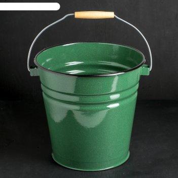 Ведро, 12 л, цвет зелёный