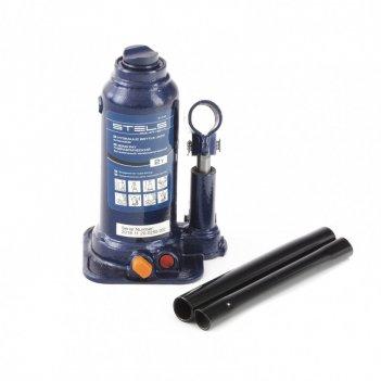 Домкрат гидравлический бутылочный телескопический, 2 т, подъем 170-380 мм