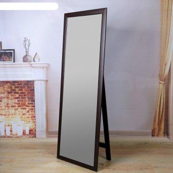 Зеркало напольное, цвет венге