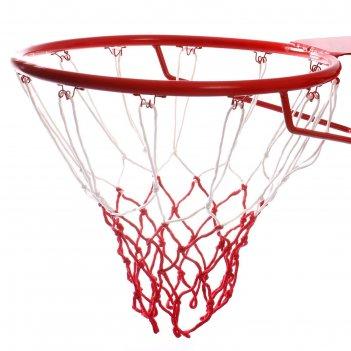 Сетка баскетбольная, двухцветная, нить 3,2 мм