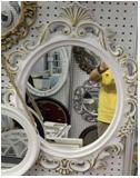Зеркало настенное 73*52см