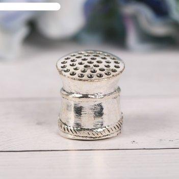 Наперсток сувенирный «севастополь» сeрeбро, 2,2 х 2,3 см