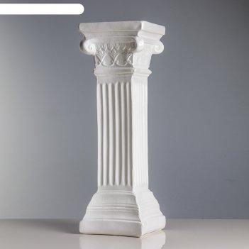 Статуэтка колонна  белая
