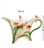 Fm-83/ 1 заварочный чайник тюльпаны (pavone)