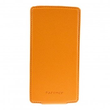 Чехол partner flip-case 4,2, оранжевый (размер 6.9*13.0 см)