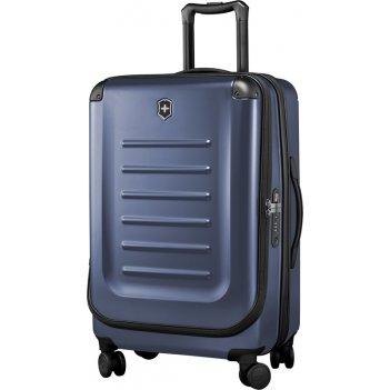 Чемодан victorinox spectra™ 2.0 expandable, синий, поликарбонат bayer, 45x