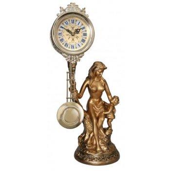 Скульптурные часы из полимерных смол восток 8403-1