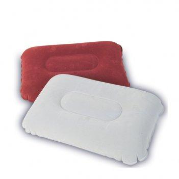 67121 подушка надувная bestway flocked air pillow