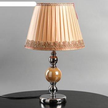 Лампа настольная шарлотта е27 макс 60 вт 46х28х28 см