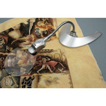 Настольная лупа с лампой