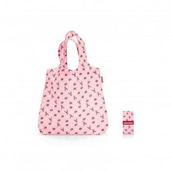 Сумка складная, размер 43,5 x 60 x 7 см, цвет розовый at3060