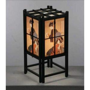 Японская  лампа гейша