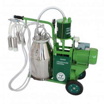 Доильный агрегат 1п, 22.6 л , последовательно выдаивает 8-10 коров, силико
