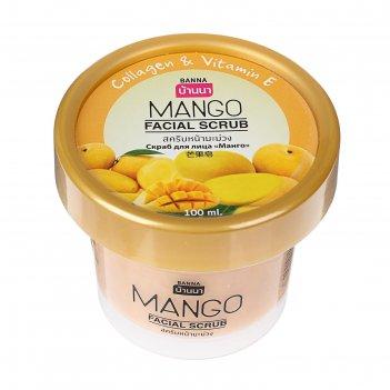 Скраб для лица banna манго,100 мл