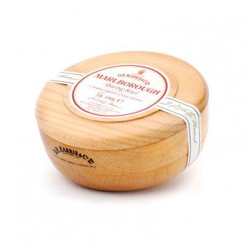 Твердое мыло для бритья в чаше из бука d. r. harris, marlborough, 100 гр