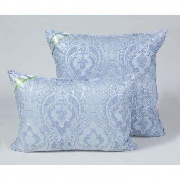 Подушка стёганная 50х70 см, бамбуковое волокно, ткань тик, п/э 100%