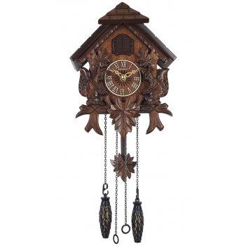 Настенные часы с кукушкой columbus сq-052c