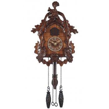 Настенные часы с кукушкой columbus сq-077c