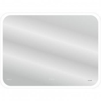 Зеркало cersanit led 070 design pro 100x70, с подсветкой, сенсор, антизапо