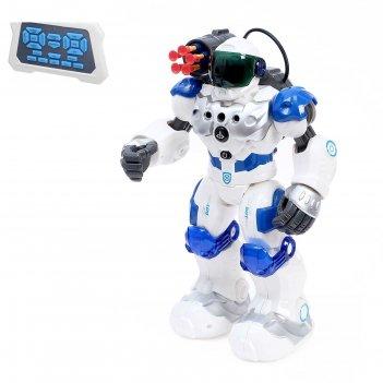 Робот радиоуправляемый, интерактивный «полицейский», световые эффекты, рус