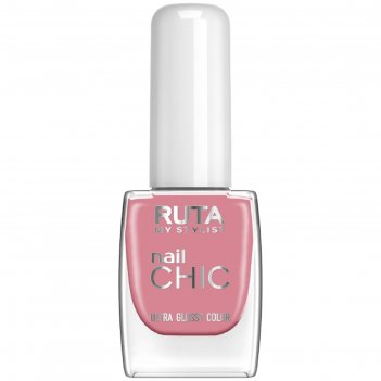 Лак для ногтей ruta nail chic, тон 10, розовый терракот