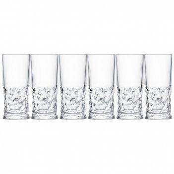 Набор стаканов для воды из 6 шт. funky 350 мл. высота=15,5 см.