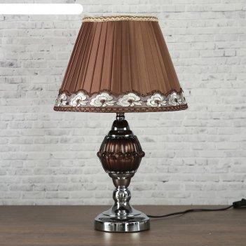 Лампа настольная е27 220в эмилия 43х28х28 см