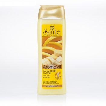 Крем-гель для душа банановый смузи, 250 мл