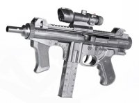 Пистолет мех., фонарь, лазер, коробка