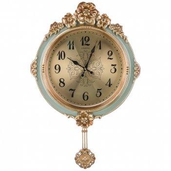Часы настенные кварцевые с маятником 42*8,5*67 см (кор=8шт.) циферблат 29