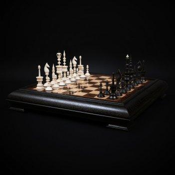 Шахматы селенус из бивня мамонта kadun