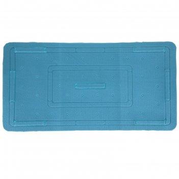 Коврик для ванны с присосками спа 37х70 см