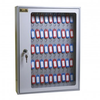 Ключница skb-65, 65 ключей, с брелоками