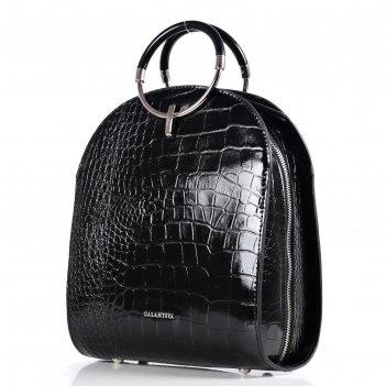 Рюкзак женский, натур.кожа, мод.55518 9с2262к45, цвет черный