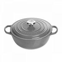 Казан la marmite, объем: 4 л, диаметр: 26 см, материал: чугун, цвет: серый