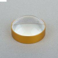 Лупа х3-4 d=6 см стекло, металл 3х6,3х6,3 см
