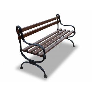 Скамейка садовая чугунная «мелодия» 1,5 м