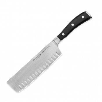 Нож кухонный для резки овощей «nakiri» 17 см, серия classic ikon, wuesthof