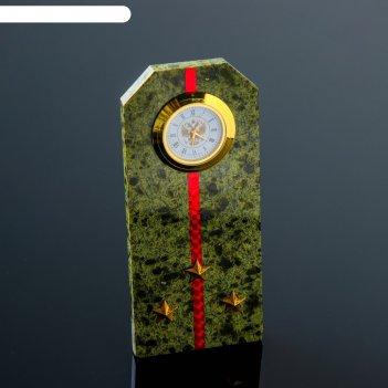 Часы погоны ст. лейтенанта , змеевик
