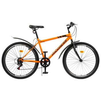 Велосипед 26 progress модель crank rus, цвет оранжевый, размер 19