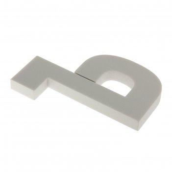 Форма из пенопласта буква ъ, 18 х 13 х 2 см